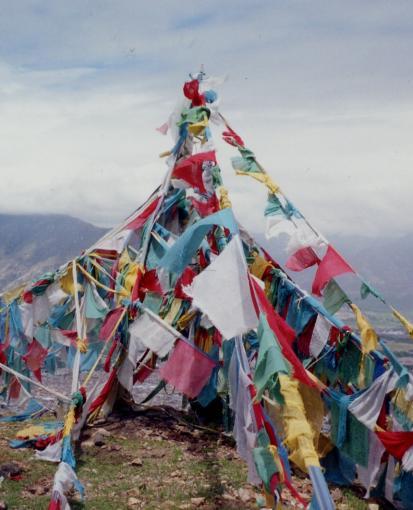Picture of Tibetan Prayer Flags