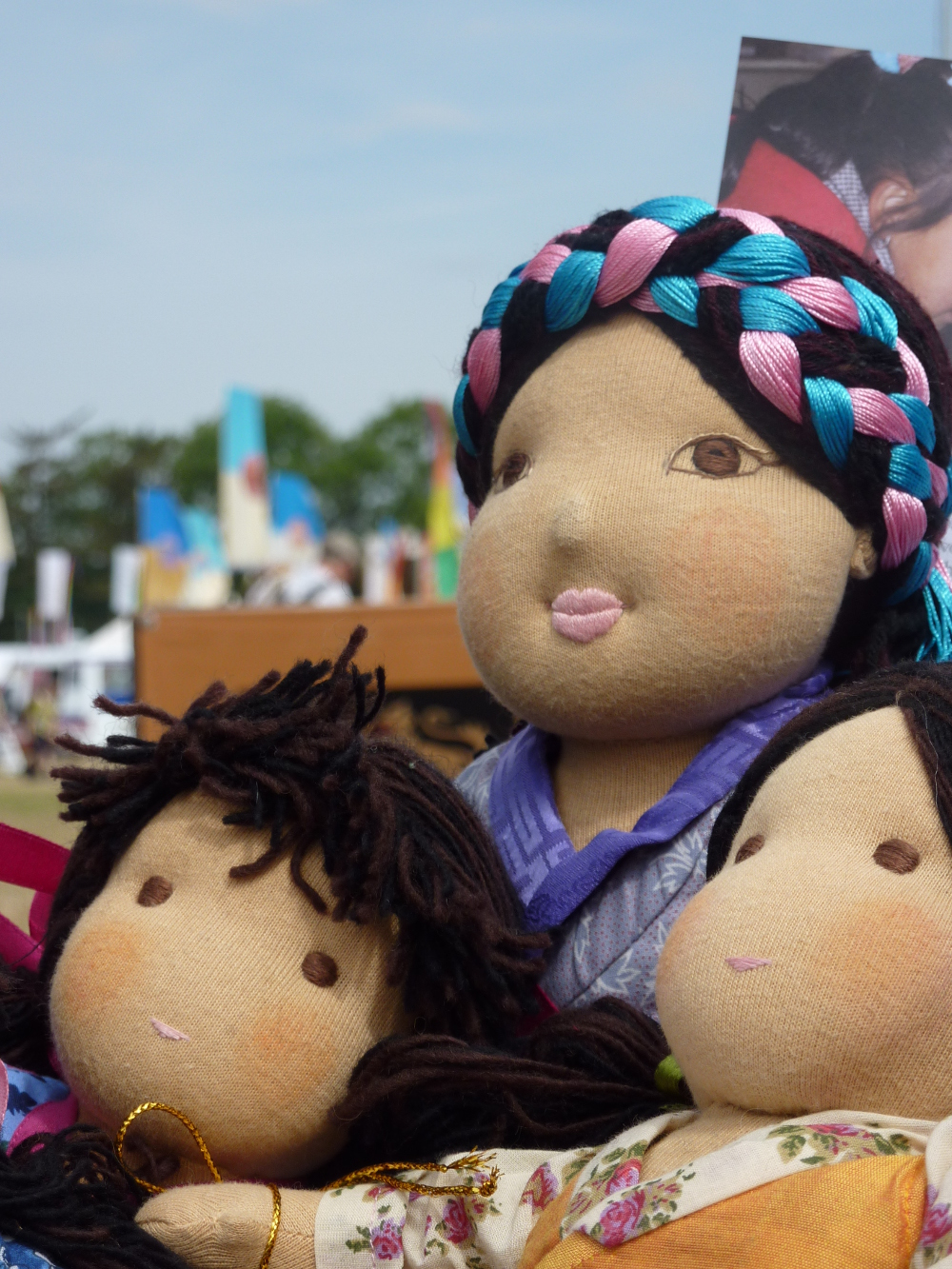 Dolls4Tibet, supported by the Tibet Relief Fund