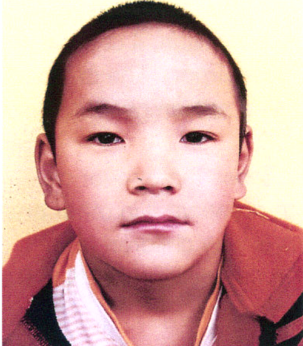 Tibetan child Ngawang Choephel