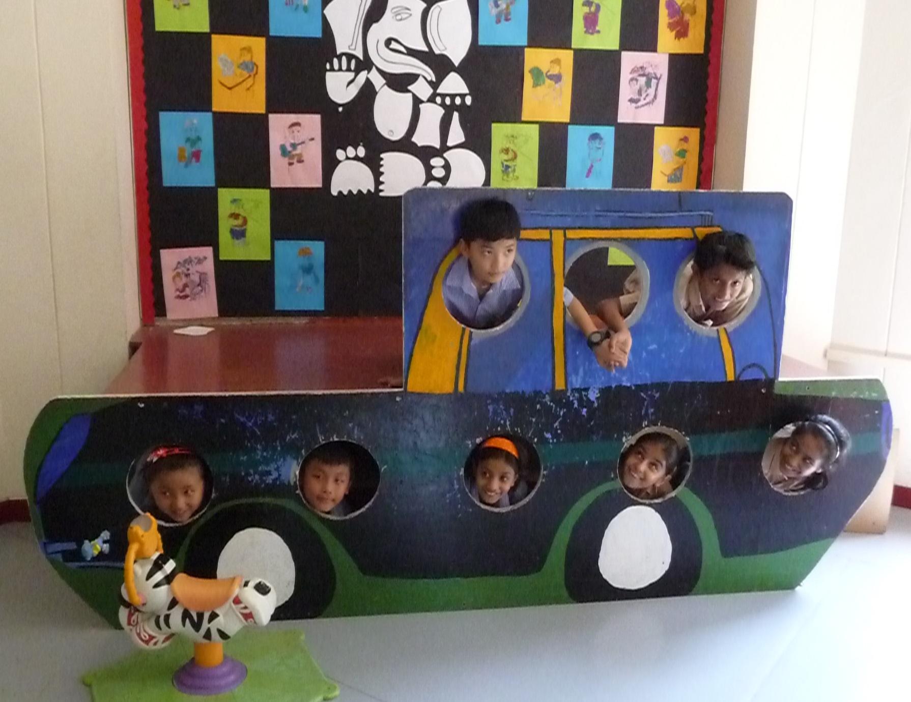 kids at Vasant Valley