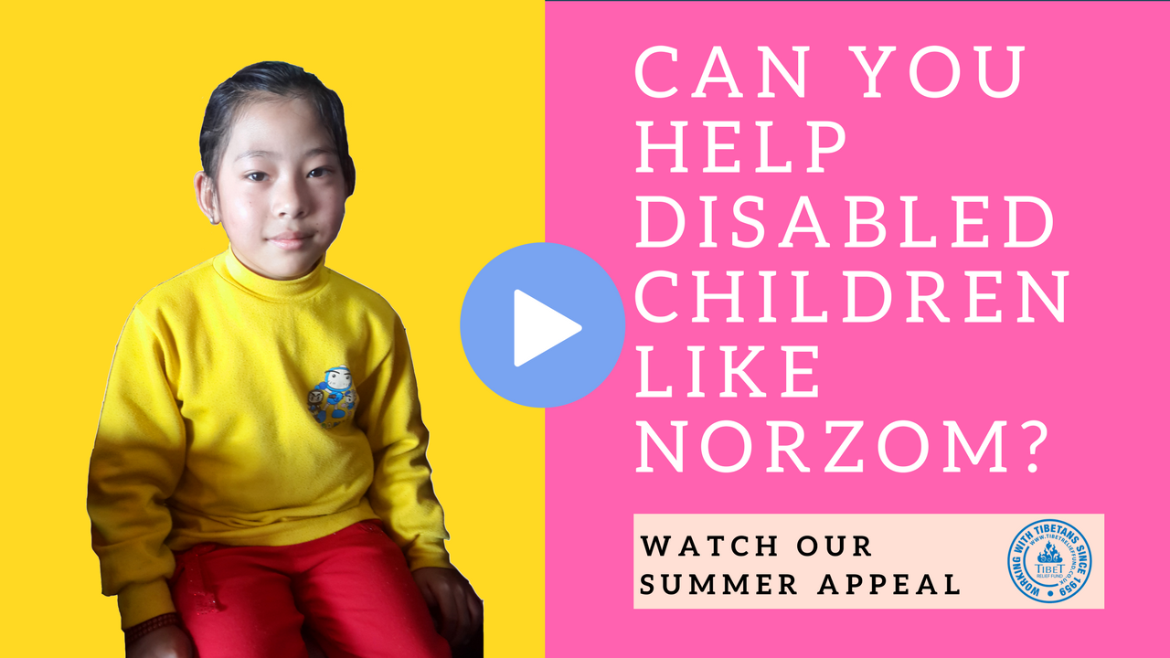 Summer Appeal: Help disabled Tibetan children finish school