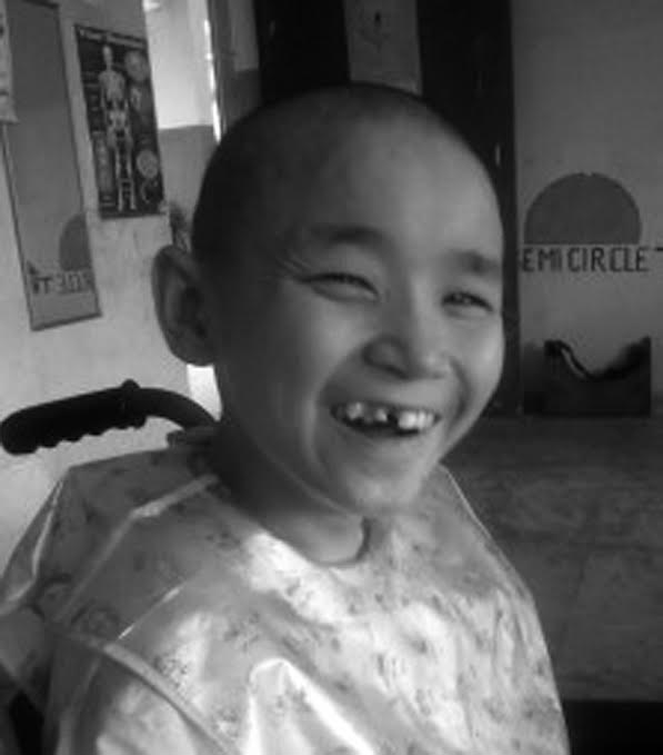 Can you help children like Tashi thrive this spring?