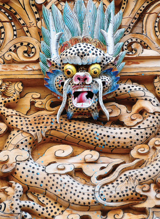 Greeting Cards - Tibetan Woodcarving