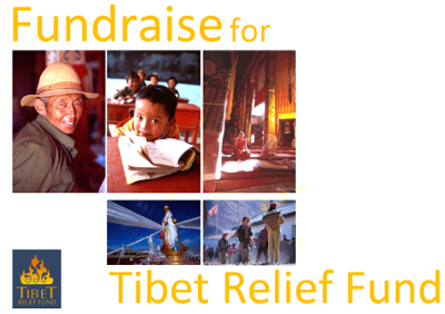 fundraise for Tibet Relief Fund