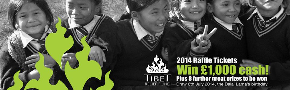 2014 Tibet Relief Fund Raffle winners!