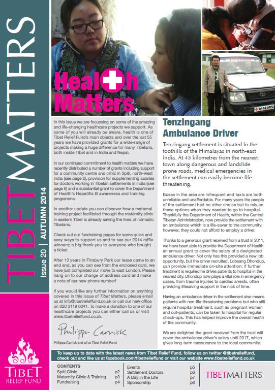 Tibet Matters - Issue 20