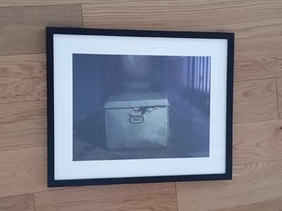 Photos come framed