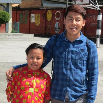 Tenzin Yangdon, 10