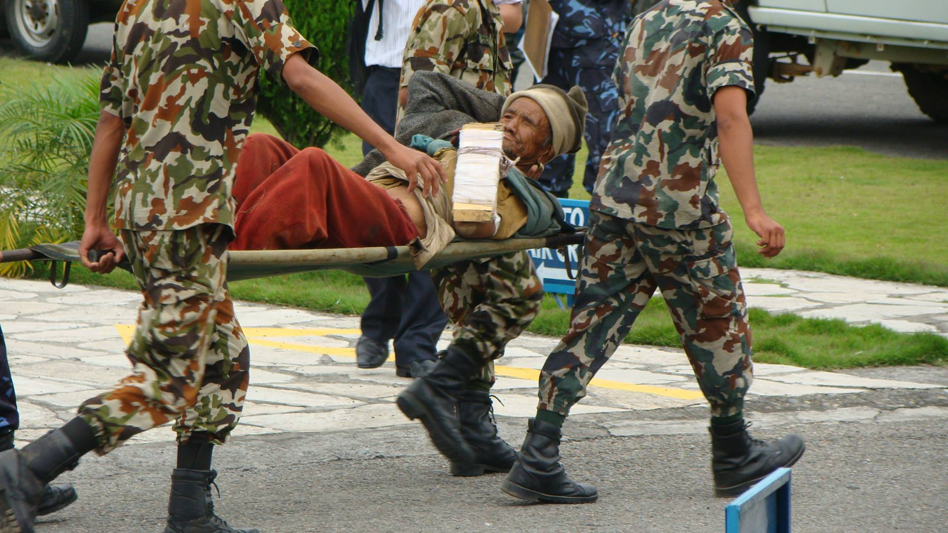 News and photos from Nepal