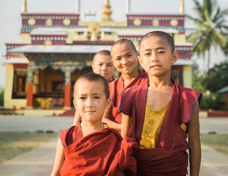 Fundraising: Beautiful signed photos of life at the Tashi Lhunpo monastery