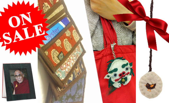 Merchandise offers from Tibet Relief Fund