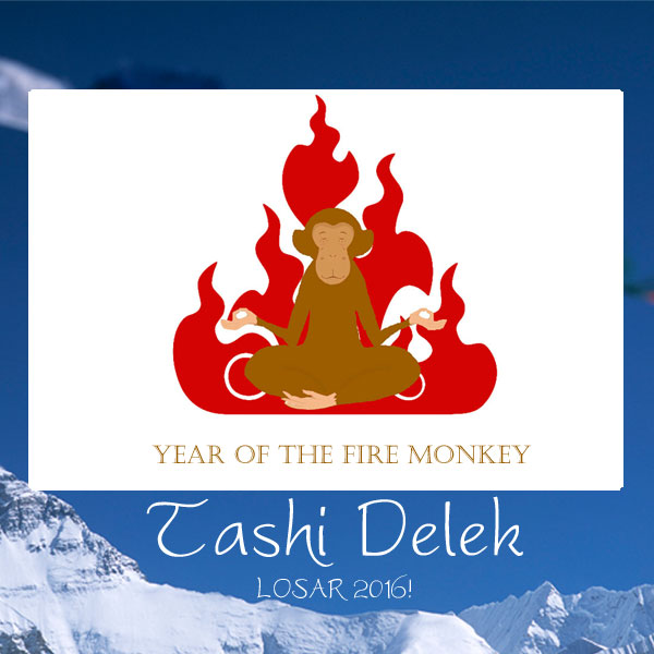 Losar 2016 the year of the fire monkey tibet relief fund send a losar ecard m4hsunfo