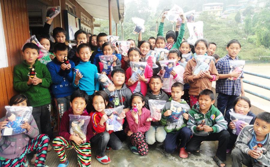 Tibet Matters: Virtual turns to reality as Tibetan children receive dolls
