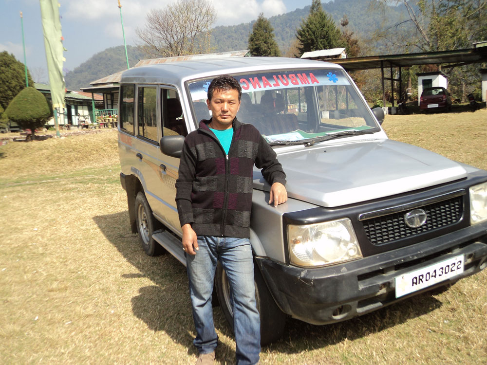 Tibet Relief Fund annual review: Tenzingang Ambulance