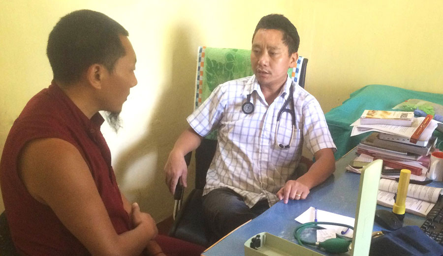 Tibet Relief Fund annual review: Paying 45% of the annual salary for 6 Tibetan doctors