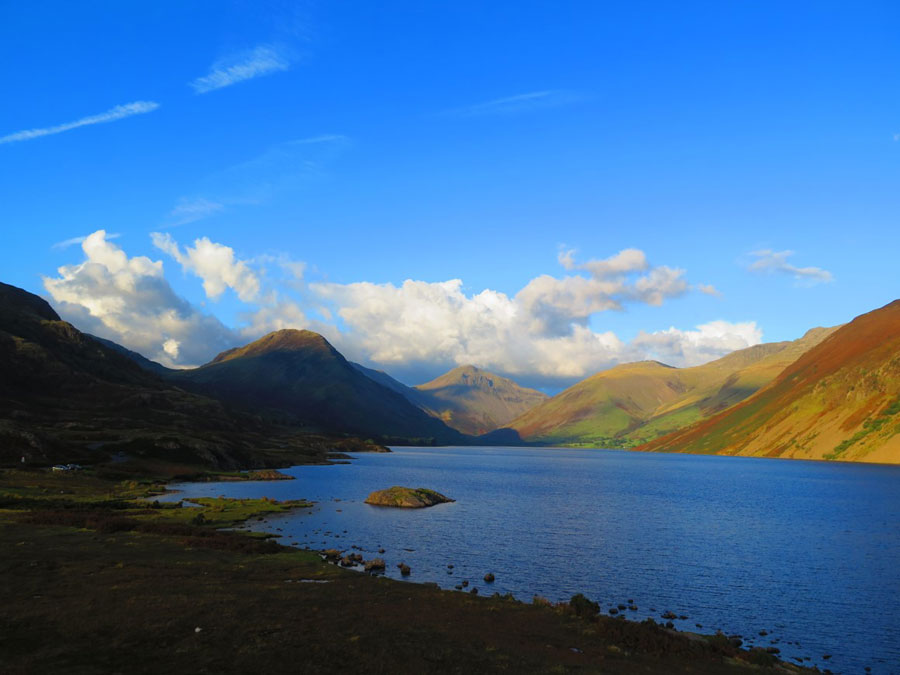 Tibet Matters: Thank you to the winter swimmers of Wastwater Lake,  Lake District
