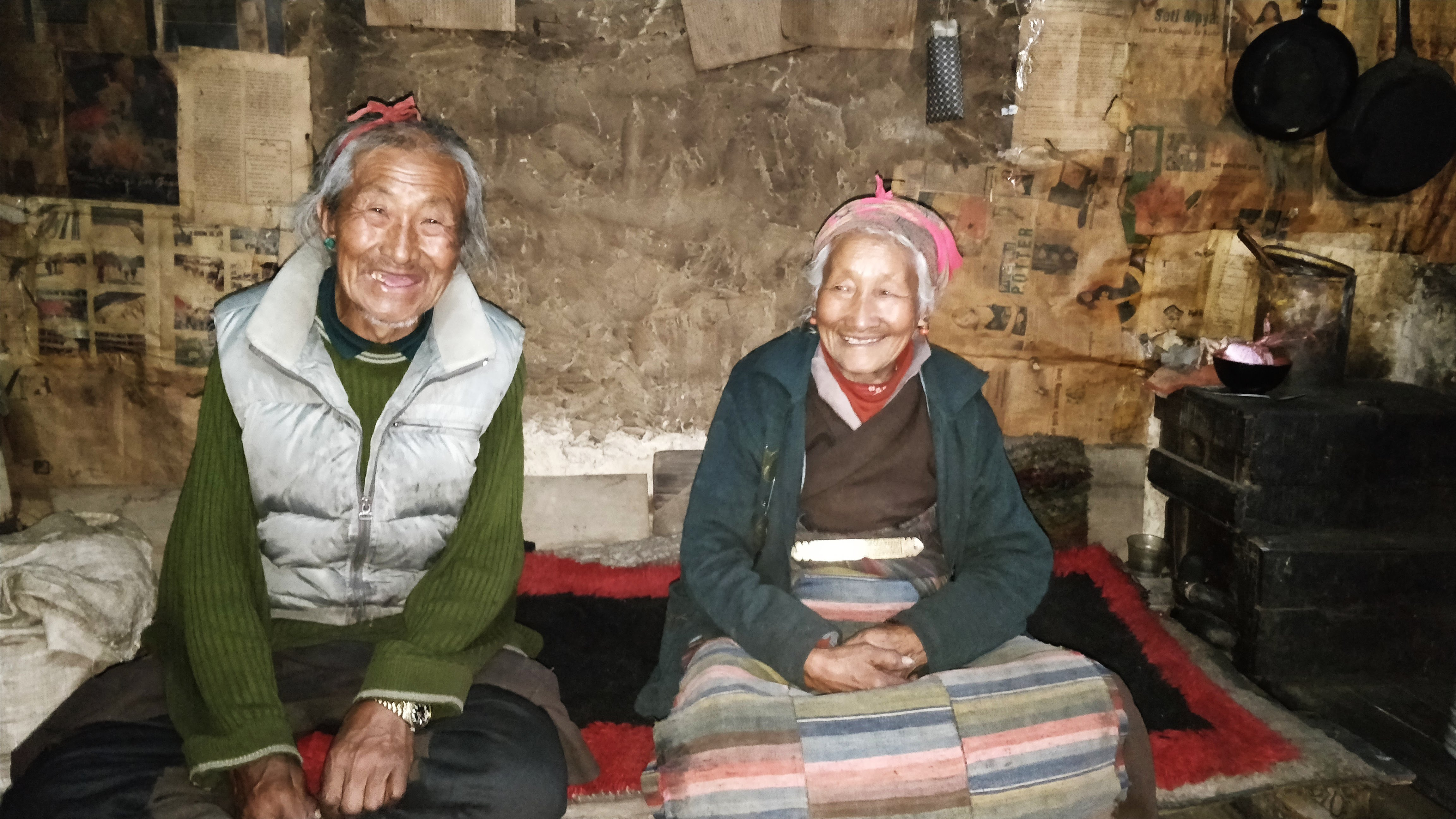 Photo Update From Nepal: We visit the Delekeling settlement