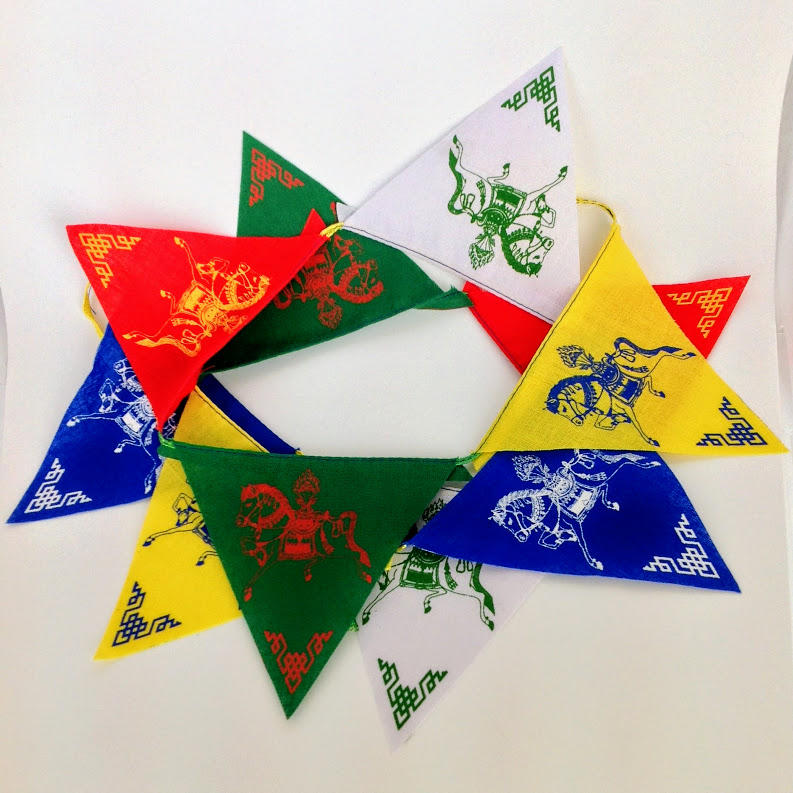 Prayer Flag Bunting