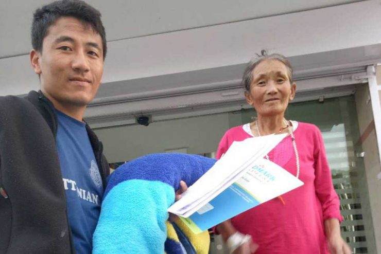 Tibet Matters Annual Review: Helping Hands of Tsering Dolkar and Lhakpa Dolma – £1,300