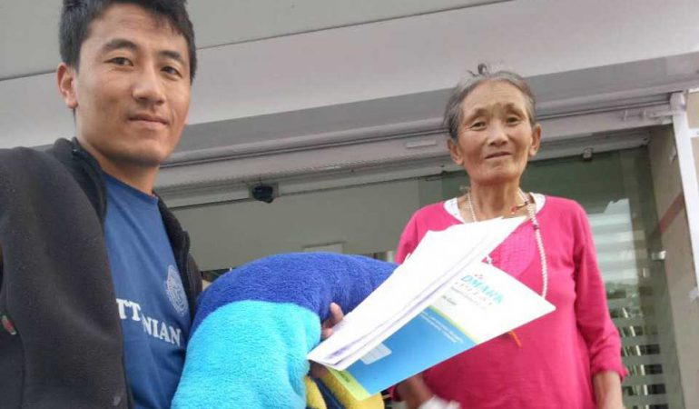 Tibet Matters Annual Review: Helping Hands of Tsering Dolkar and Lhakpa Dolma £1,300