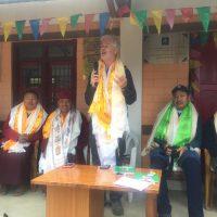 Tibet Matters: Dr Roy Welford's Bakhang Visit