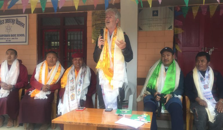 Tibet Matters: Dr Roy Welford's Bakhang Visit
