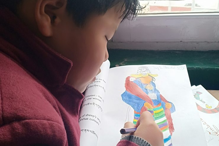 Tibet Matters: Colouring Culture