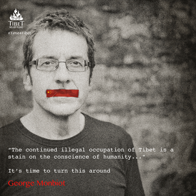 Time4Tibet George Monbiot