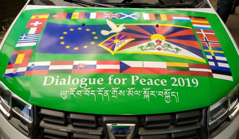 Dialogue for Peace tour visits our office