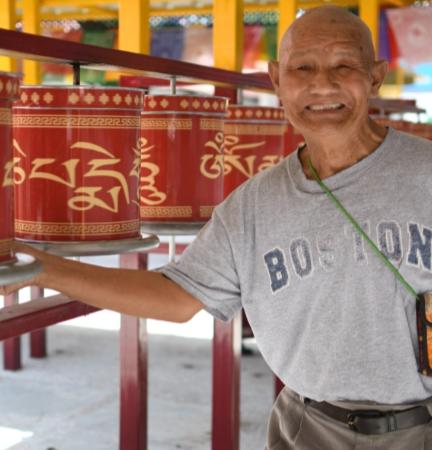 Mr. Tsering Thupney –  M –  Tibetan Homes Foundation, Mussoorie