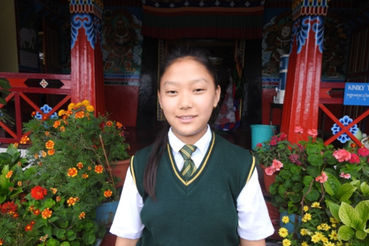 Tenzin Chodon –  F –  Tibetan Homes Foundation, Mussoorie