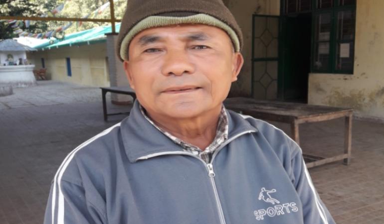 Mr. Lobsang Tsering –  M –  Tibetan Homes Foundation, Mussoorie