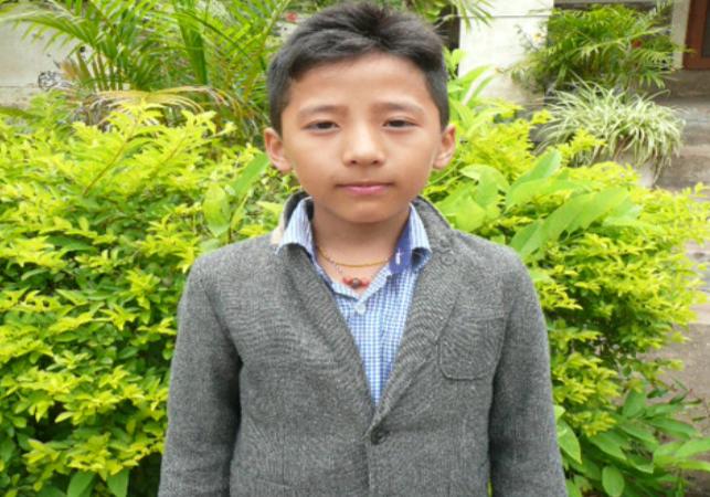 Tenzin Rabage –  M –  Tibetan SOS Children's Village  Dharamshala