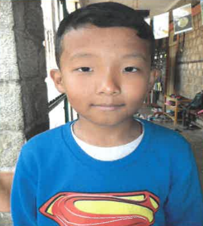 Tenzin Choerab –  M –  Tibetan SOS Children's Village  Dharamshala